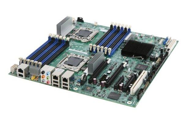 Intel 最新推出Xeon 5500处理器,以其优秀的技术架构和出众的性能,受到众多服务器厂家欢迎,今天介绍工作站主板Intel S5520SC,支持双路Xeon5500、支持6根DDR3 RECC、支持双PCIE x16 2.0、支持SSD硬盘等,最大限度用于CAD、CAM、工业设计、高性能计算应用等 参数说明